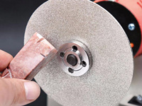 diamond coated lapping disc