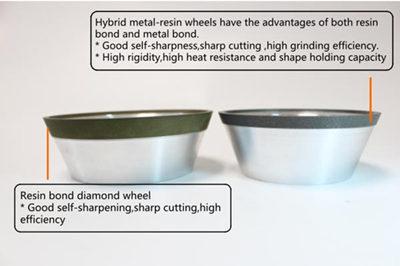 hybrid diamond grinding wheel