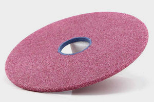 pink chainsaw grinding wheel