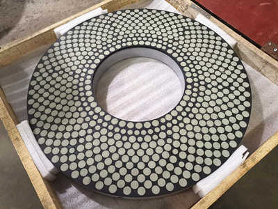 Double Disc Grinding Wheel for roughing and finishing