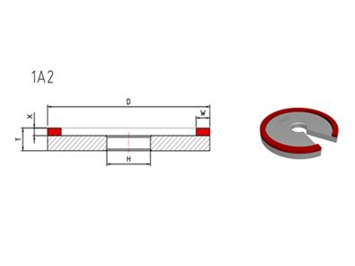1A2 Diamond Grinding Wheel