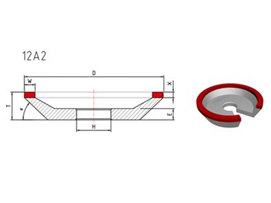 12A2 Diamond Grinding Wheel
