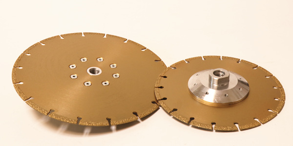 vacuum brazed diamond cutting wheels