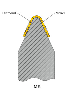 Type of diamond rolls