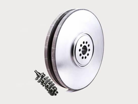 Vitrified CBN Grinding Wheel for Journal (Diesel engine)