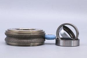 dresser roll for grinding wheel