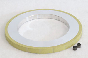 Cylindrical diamond wheel for pdc cutter