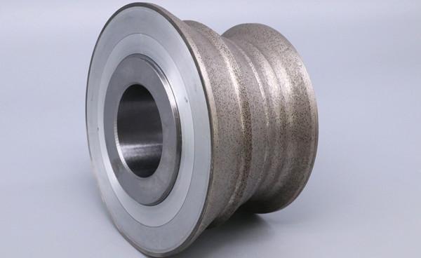 rotary diamond dresser roll