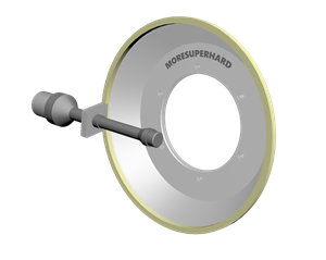 vitrified diamond grinding wheel for peripheral inserts grinding